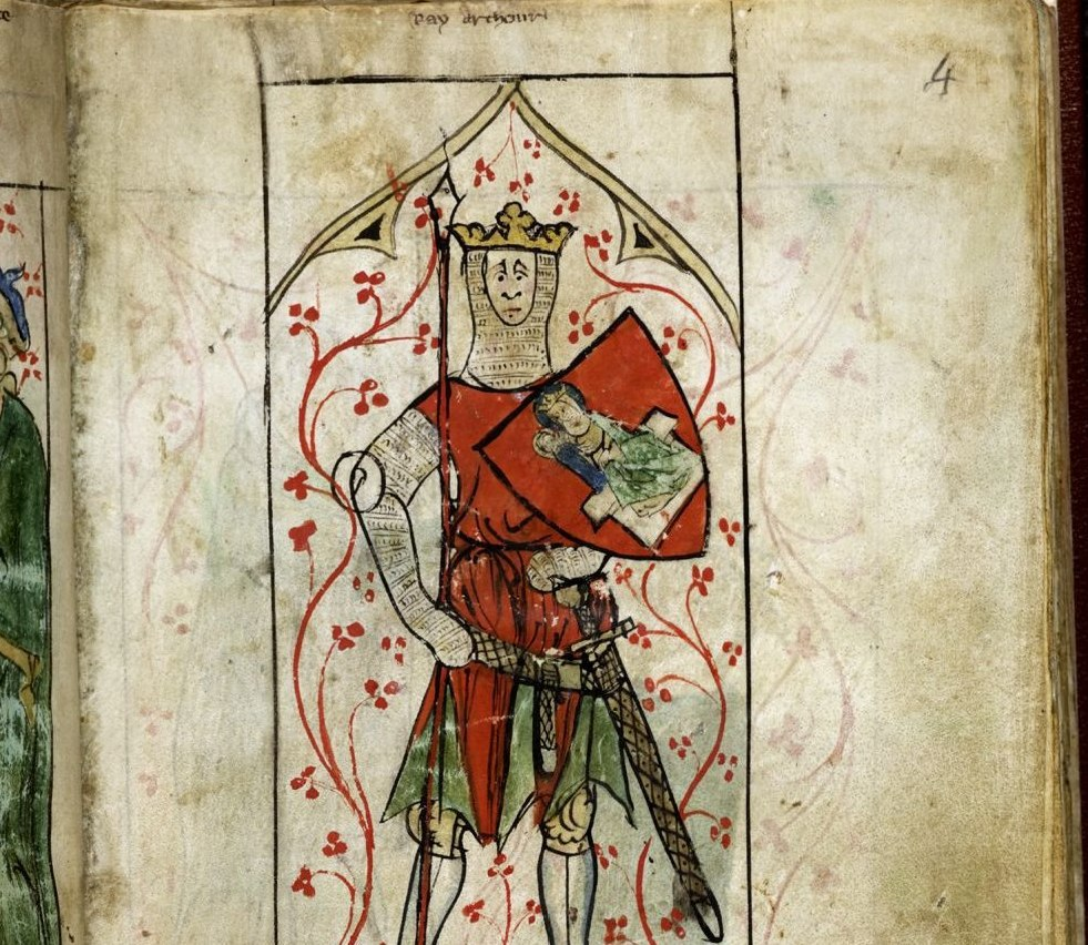 was king arthur real Isaw something with some information at , but i need to really know, was he real i don't believe that he is an anscestor of christ because i know christ did not have a son.
